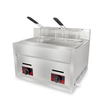 Sc-72 6L+6L Professional Gas Deep Fryer with a Good Quality
