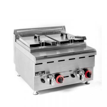 Commercial Continuous Gas Deep Fried Chicken Pressure Fryer for Shop